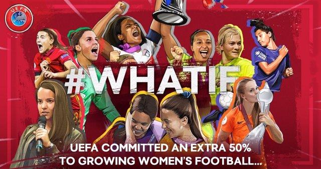 La UEFA aumentará su financiación para el fútbol femenino en un 50 por  ciento 9b2a69ce80c4c