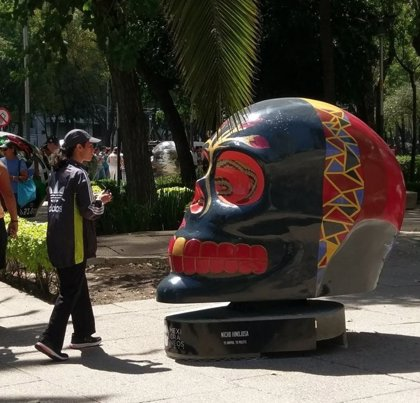 Inauguran una exposición de 'Mexicráneos' en Ciudad de México
