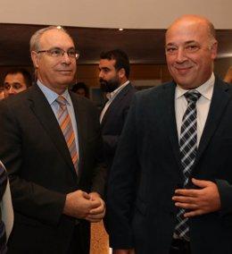 Juan Pablo Durán y Antonio Ruiz en el IAJ