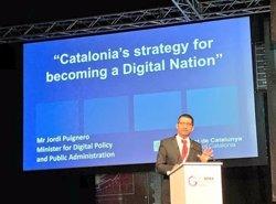 Puigneró porta a Dubai el model de república digital catalana (GENERALITAT)