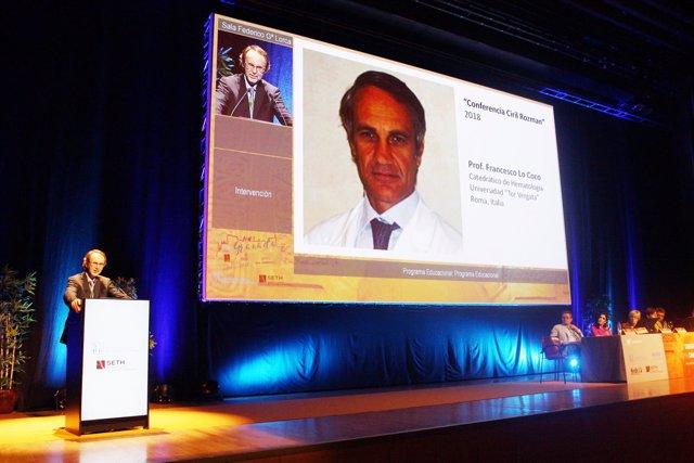 Conferencia de Francesco Lo Coco en el LX Congreso de la SEHH