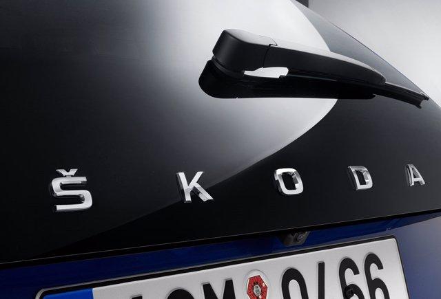 Parte trasera del nuevo compacto Skoda Scala