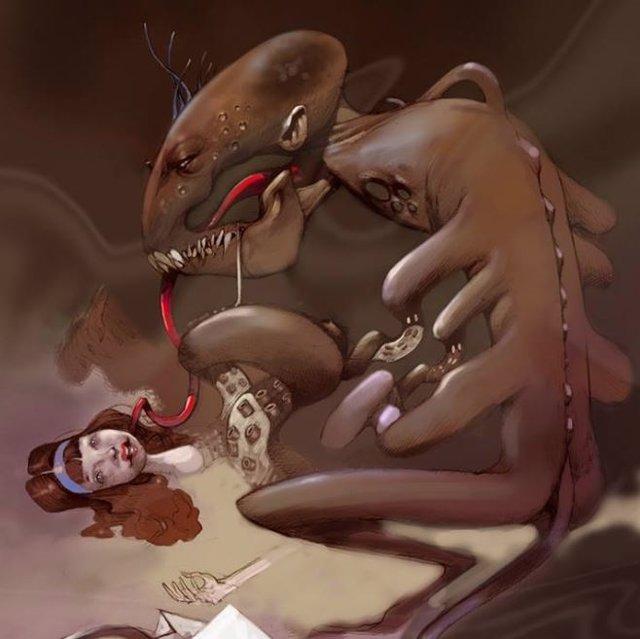 Lucy y el Monstruo