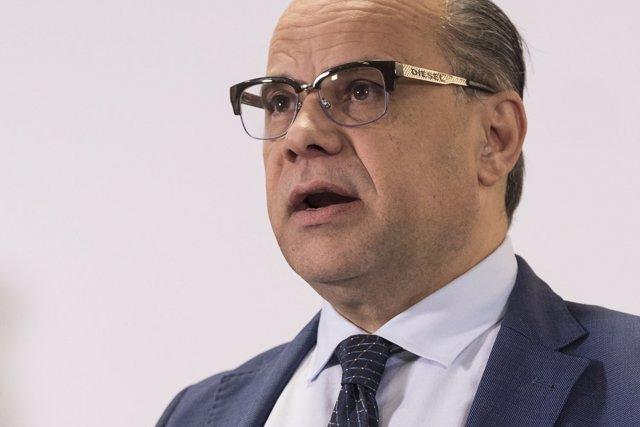 José Miguel Barragán, consejero de Presidencia, Justicia e Igualdad de Canarias