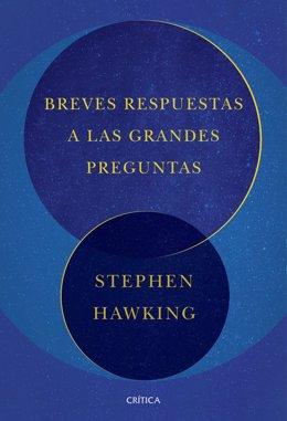 Portada de la obra póstuma de Hawking, publicada en España por Crítica