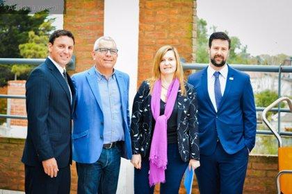 La presencia en Argentina de la campaña canaria de prevención de ahogamientos capta interés entre países sudamericanos
