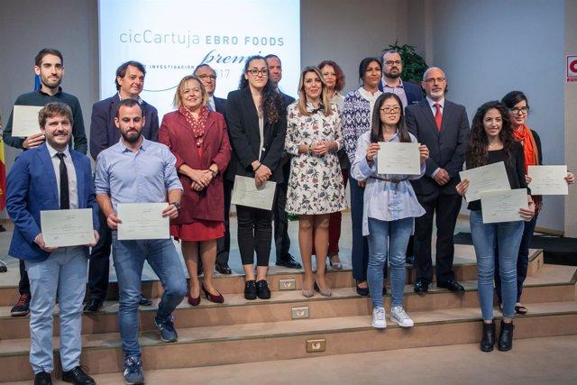 La presidenta de la Junta de Andalucía, Susana Díaz, en los Premios CIC Cartuja