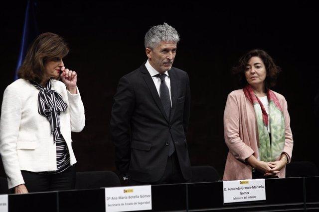 Fernando Grande-Marlaska en la entrega de condecoraciones a la Orden del Mérito
