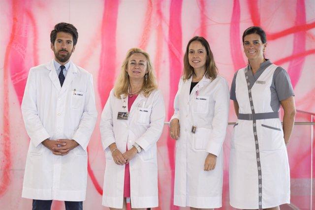 Especialistas de la Clínica Universidad de Navarra.