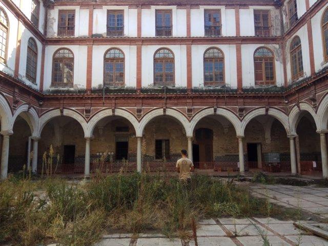 Biblioteca Pública del Estado San Agustín obras convento y colegio