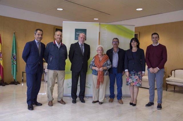 La Diputación de Sevilla renueva su colaboración con Vodafone y Alma Natura