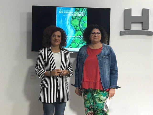 María Eugenia Limón y Eva Salazar.