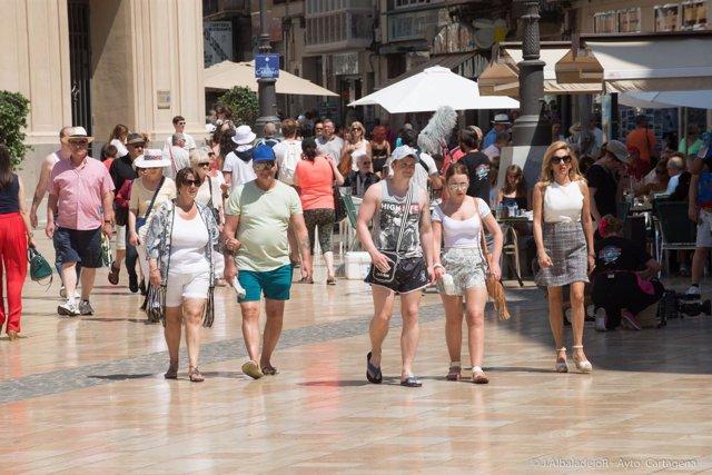 El crucero Anthem of the Seas deja miles de turistas en Cartagena