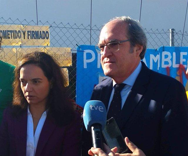 Angel Gabilondo y Sara Hernández