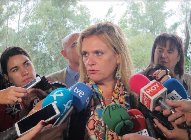 La delegada del Gobierno, Yolanda García Seco