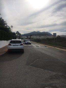 El Camino de El Palmeral verá mejorado el firme en 2.300 metros de vía.