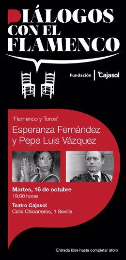 Ciclo 'Diálogos con el flamenco' de Fundación Cajasol
