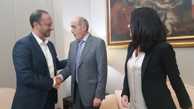 Gómez de Celis se reúne con la Asociación Andaluza de Víctimas del Terrorismo