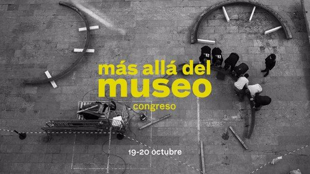 Cartel del congreso 'Más allá del museo', del IVAM