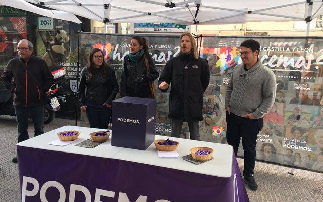 Podemos ve en Salinero y Guinea los 'mejores' candidatos para el Ayuntamiento de Burgos