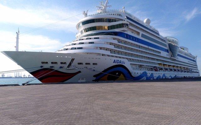 El crucero Aida Vita Victoria atracará este martes en el Puerto de Tarragona