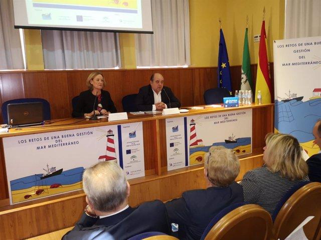 Ortiz participa en la jornada 'Retos de una buena gestión del Mar Mediterráneo'