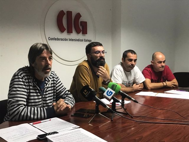 Responsables de CIG Industria en Vigo