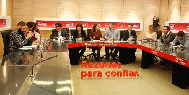 Reunión del Comité Electoral del PSOE