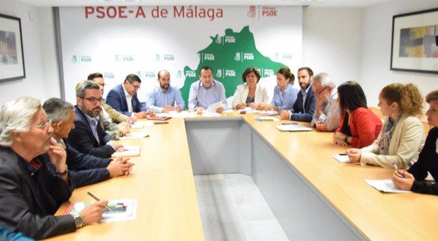 Constitución del Comité Electoral del PSOE de Málaga