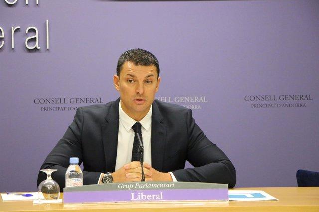 Jordi Gallardo, presidente de Liberals d'Andorra