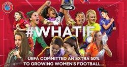 La UEFA augmentarà el seu finançament per al futbol femení en un 50 per cent (UEFA)