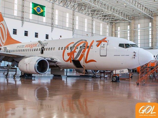 Avión de Gol.