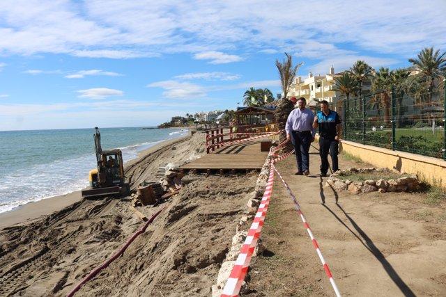 Acondicionamiento playas Mijas