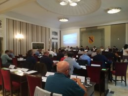 La Asamblea Balear del Deporte reunida esta tarde