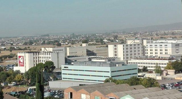 Vista general del Hospital Universitario Reina Sofía