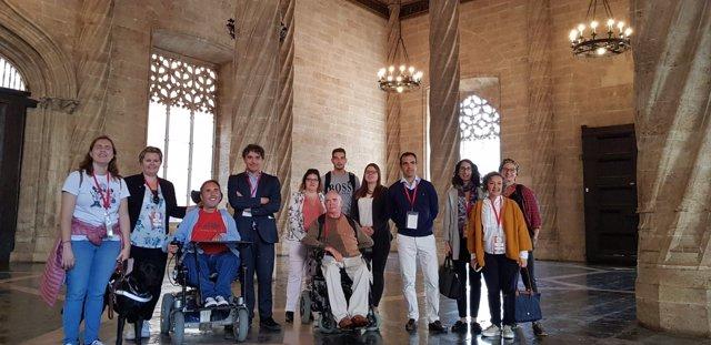 Blogeros internacionales con discapacidad física visitan la Comunitat