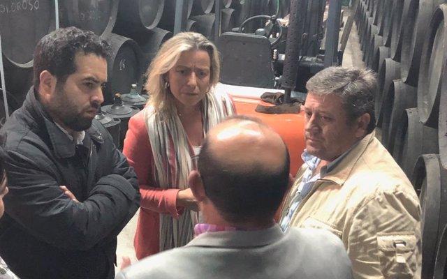 Cs subraya su apuesta 'decidida' por el sector vitivinícola de Córdoba