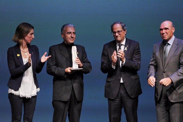 Torra y Chacón en los Premis Nacionals de Recerca 2017
