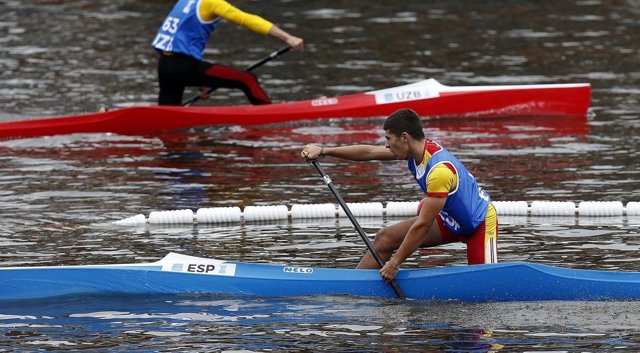 Yoel Becerra piragüismo Juegos Juventud