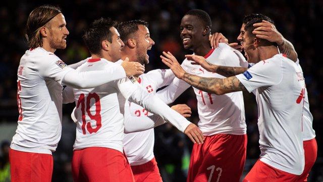 Suiza Liga Naciones