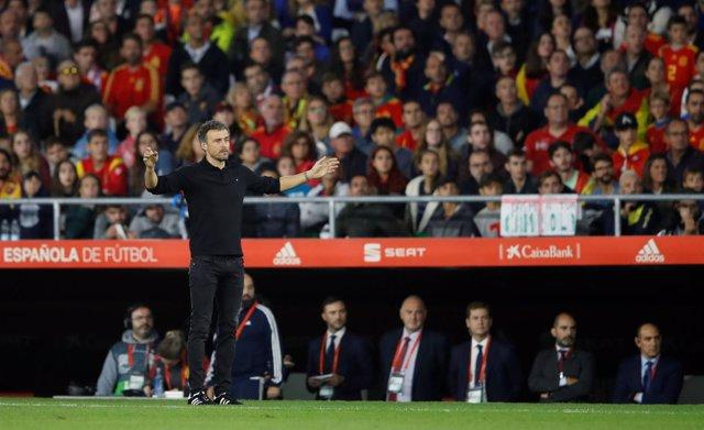 Luis Enrique selección española España Inglaterra