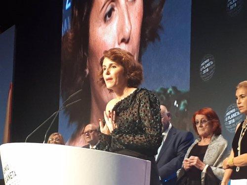 Ayanta Barillo, finalista del Premio Planeta 2018