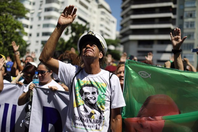 Seguidores de Jair Bolsonaro