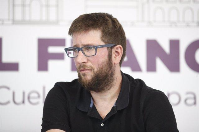 Presentación de la propuesta de Podemos Exhumar el franquismo. Recuperemos el Va