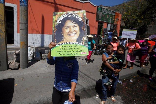 Berta Cáceres, la líder asesinada en Honduras