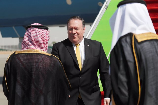 Mike Pompeo llega a Arabia Saudí