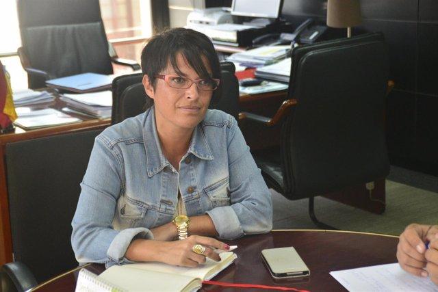Consejera de Política Social y Accesibilidad de Cabildo grancanario, Elena Máñez