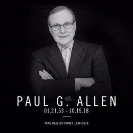 Fallece Tim Allen, Dueño De Portland Trail Blazers