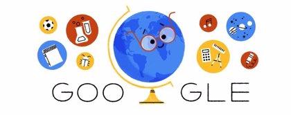 Google celebra el Día del Maestro en Chile con un 'doodle' especial