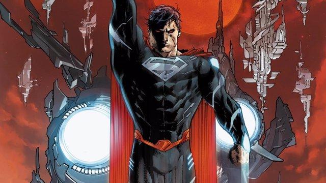 Superman de negro